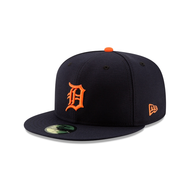 Detroit Tigers Authentic Collection Road 59FIFTY Fitted | Detroit Tigers Hats | New Era Cap