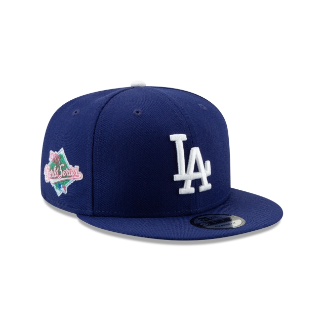 Los Angeles Dodgers Crystals From Swarovski World Series Patch 9fifty | New Era Cap
