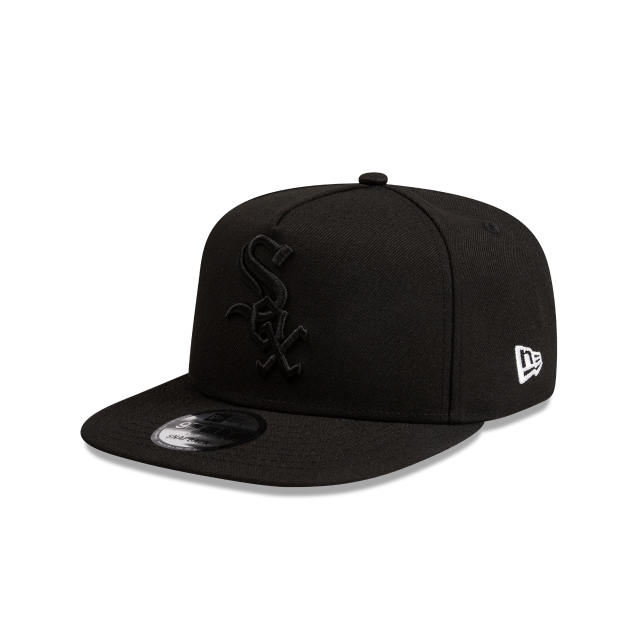 Chicago White Sox Black Tonal 9fifty A-frame | New Era Cap