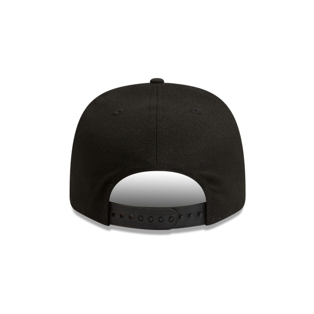 Collingwood Magpies Black Olive 9FIFTY Pre-curved Snapback | Collingwood Magpies Hats | New Era Cap