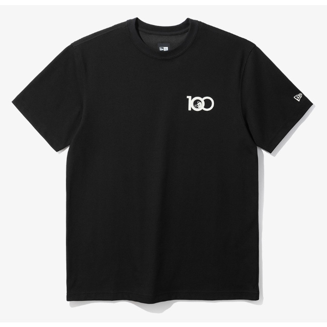 New Era 100th Anniversary T-shirt In Black | New Era Cap