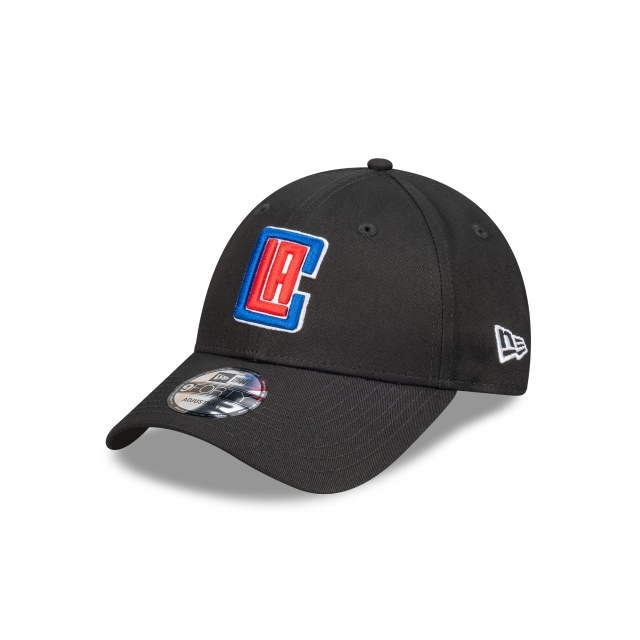 Los Angeles Clippers Black Team 9FORTY | Los Angeles Clippers Hats | New Era Cap