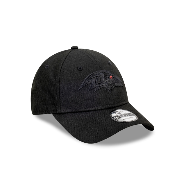 Baltimore Ravens Black On Black 9FORTY | Baltimore Ravens Hats | New Era Cap