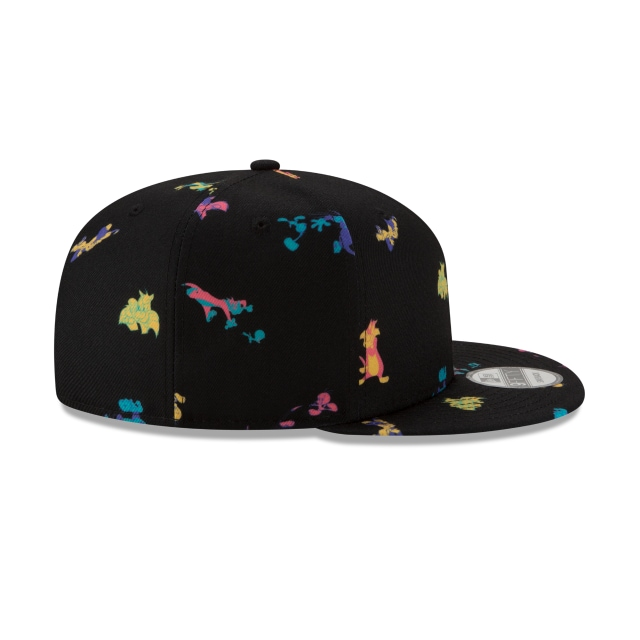 Tweety And Sylvester Loony Tunes Black Scatter Print 9fifty Snapback | Pwrcouple 950scatter Caps | New Era Cap