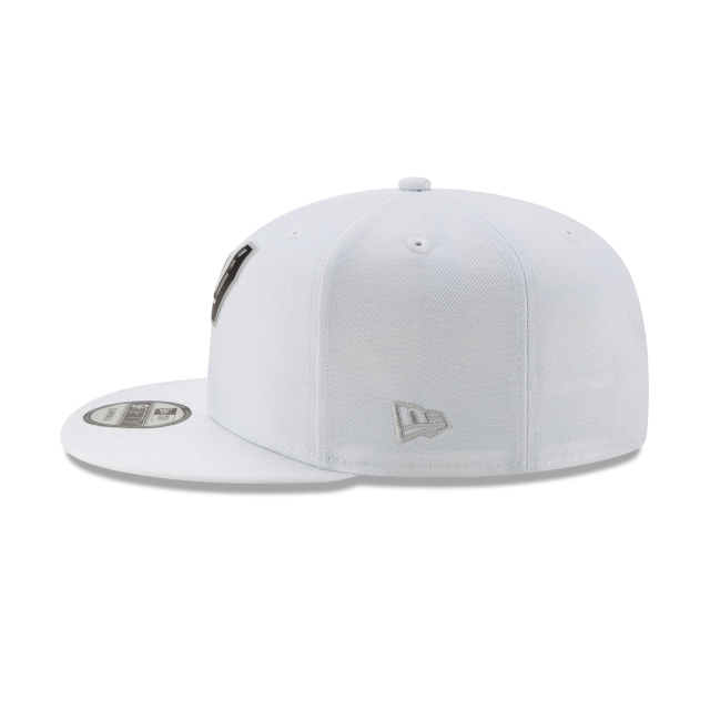 San Antonio Spurs NBA Authentics Back HaLF Series White 9FIFTY Snapback | San Antonio Spurs Hats | New Era Cap