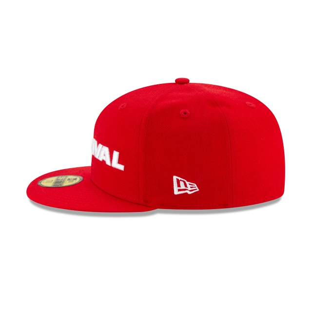 Dave East Survival Scarlet 59FIFTY Fitted | Dave East Hats | New Era Cap
