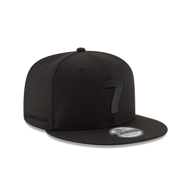 Compound Black On Black 9fifty Snapback | Compound 9fifty Caps | New Era Cap
