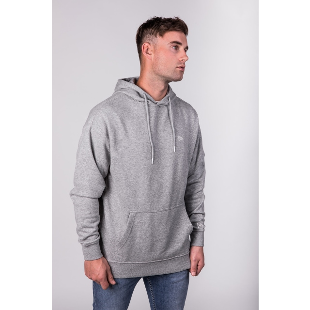 New Era Essential Grey Heather Hoodie | New Era Cap