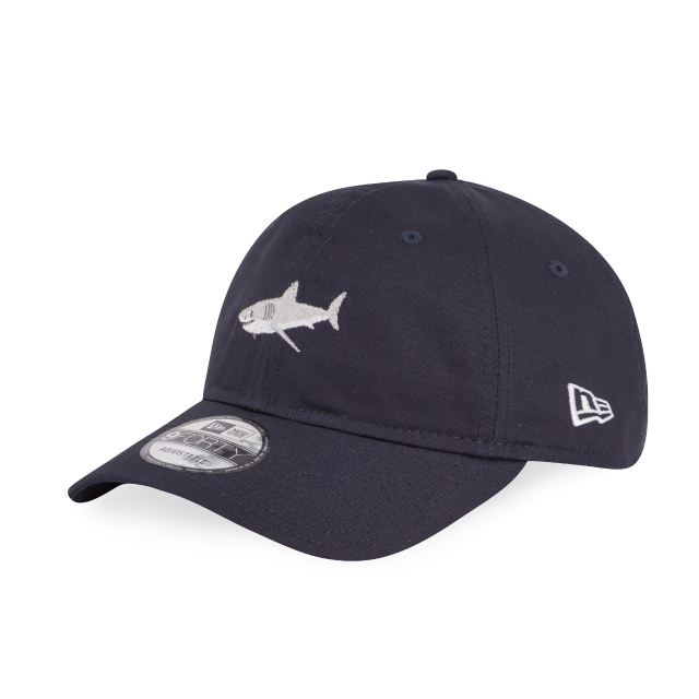 Shark Navy Unstructured 9forty | New Era Cap