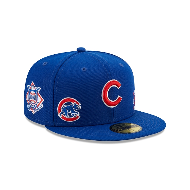 Chicago Cubs Multi Patch Official Team Colours 59FIFTY Fitted | Chicago Cubs Hats | New Era Cap