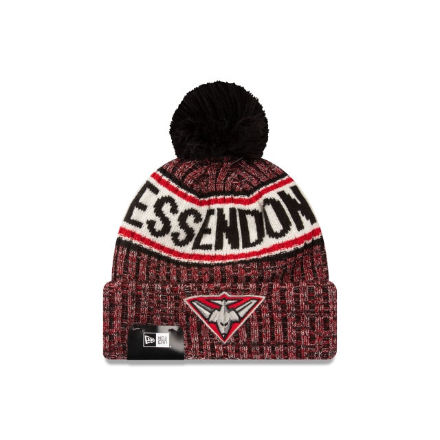 Essendon Bombers Authentic Team Cuff Knit Beanie | Essendon Bombers Hats | New Era Cap