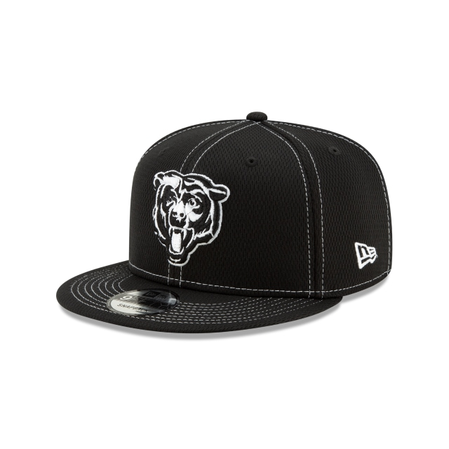 Chicago Bears Nfl Sideline Road Black 9fifty Snapback | New Era Cap
