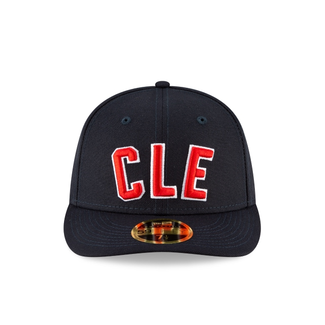 Cleveland Indians 2020 MLB Ligature Official Team Colours Low Profile 59FIFTY Fitted | Cleveland Indians Hats | New Era Cap