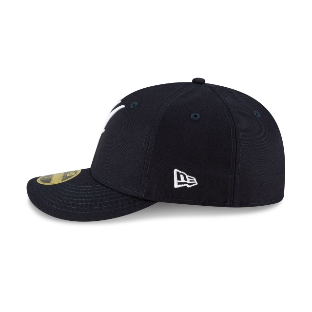 New York Yankees MLB Ligature Official Team Colours Low Profile 59FIFTY Fitted | New York Yankees Hats | New Era Cap