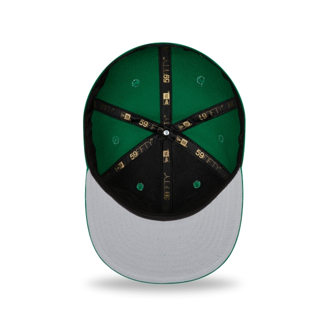 Boston Celtics Double Hit 59FIFTY Fitted | Boston Celtics Hats | New Era Cap