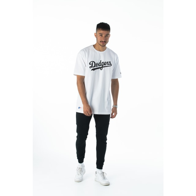 Los Angeles Dodgers Oversized White T-shirt | Los Angeles Dodgers | New Era Cap