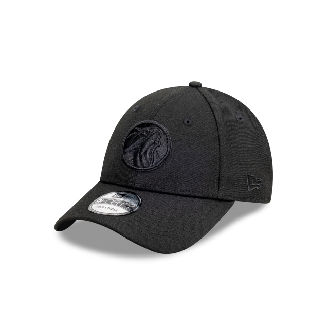 Minnesota Timberwolves Black On Black 9FORTY | Minnesota Timberwolves Hats | New Era Cap