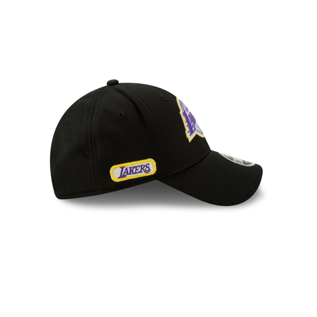 Los Angeles Lakers NBA Authentics Back HaLF Series 9FORTY Stretch Snapback | Los Angeles Lakers Hats | New Era Cap