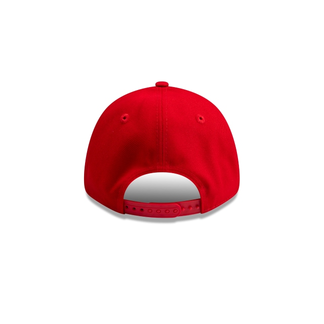 New Era Essentials Scarlet Red 9FORTY | New Era Essentials Hats | New Era Cap