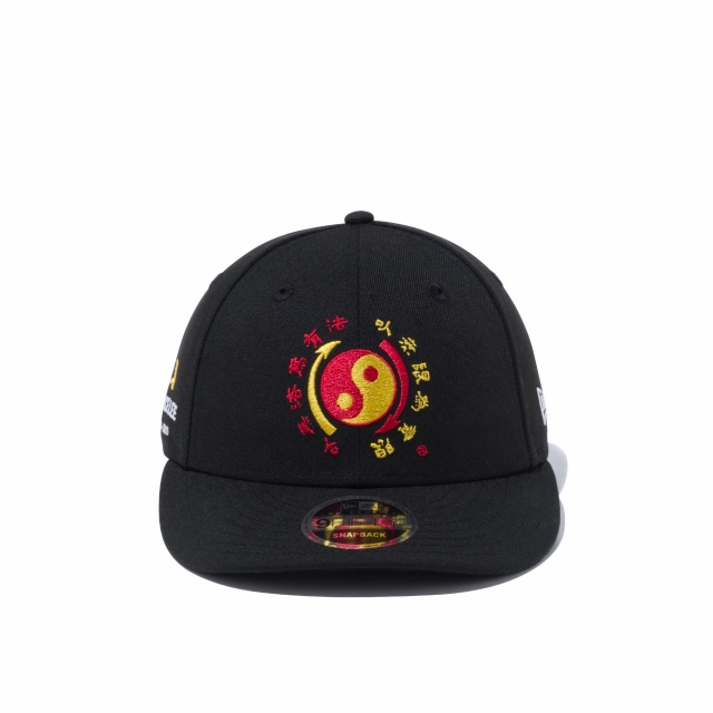 Bruce Lee 80th Anniversary Dragon Taikyoku Black/multi Low Profile 9FIFTY Snapback | Bruce Lee 80th Anniversary Collection Hats | New Era Cap