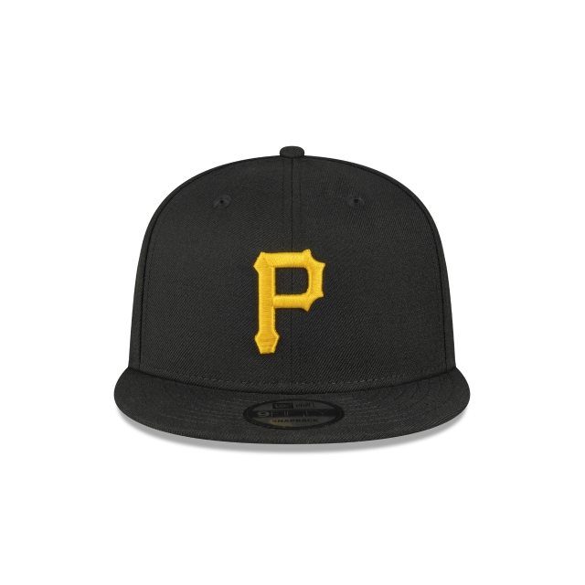 Pittsburgh Pirates All Black 9FIFTY Snapback | Pittsburgh Pirates Hats | New Era Cap