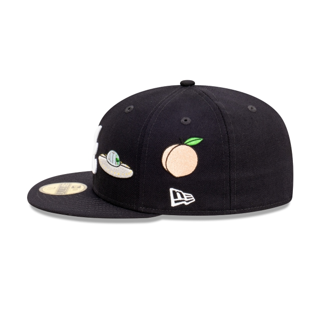 Atlanta Braves World Series City Collection Official Team Colours 59FIFTY Fitted | Atlanta Braves Hats | New Era Cap