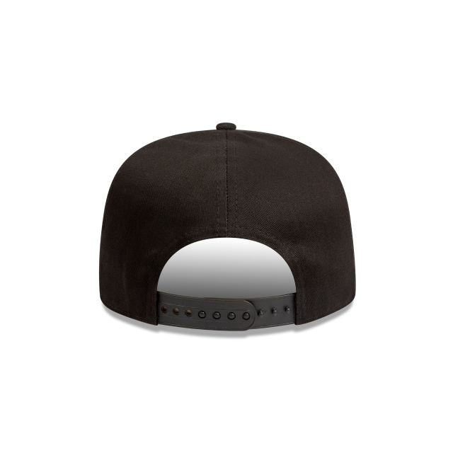 Los Angeles Lakers Black Text 9FIFTY A-frame | Los Angeles Lakers Hats | New Era Cap