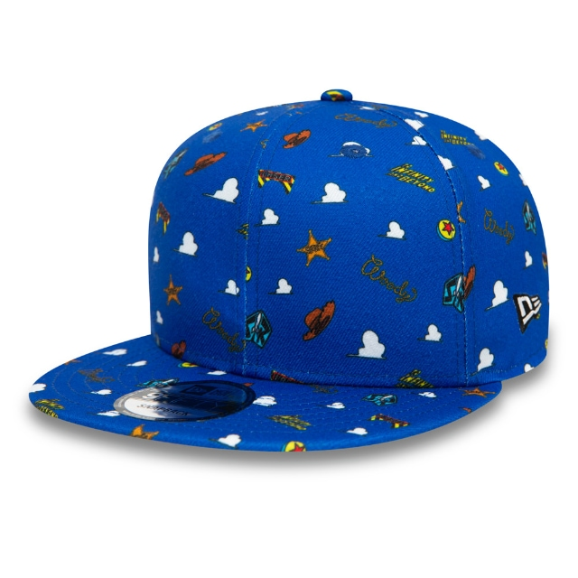 Toy Story Blue Scatter Print 9FIFTY Snapback | Power Couples Hats | New Era Cap