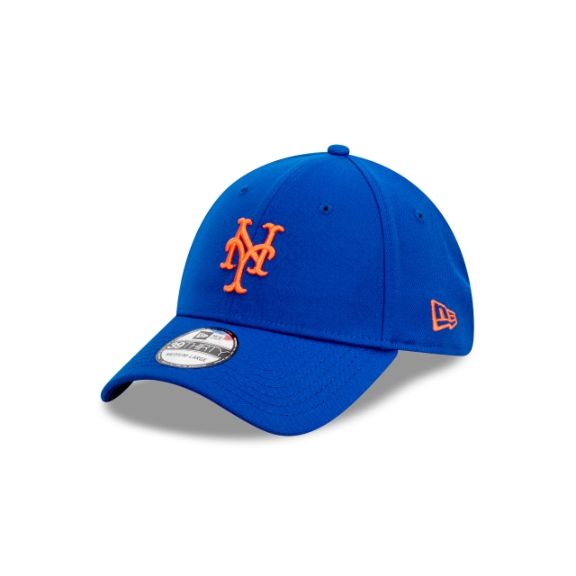 New York Mets Official Team Colour 39THIRTY | New York Mets Hats | New Era Cap