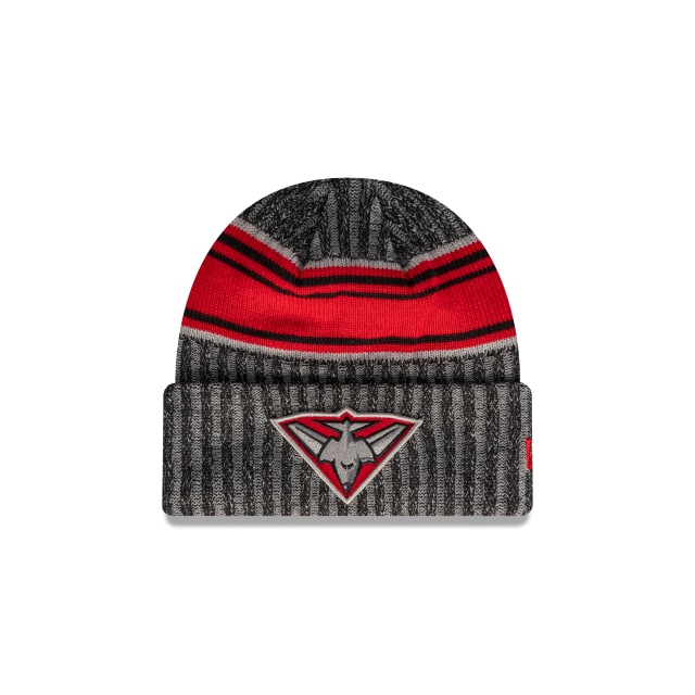 Essendon Bombers Official Team Colours Cuff Beanie | Essendon Bombers Hats | New Era Cap