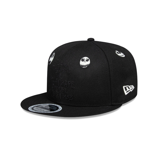 Jack Skellington The Nightmare Before Christmas Black / White 9FIFTY | The Nightmare Before Christmas Hats | New Era Cap