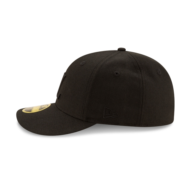 Helmut Lang Black Low Profile 59FIFTY | Helmut Lang Hats | New Era Cap