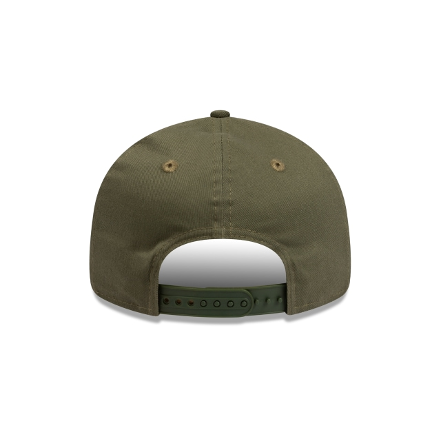 New York Yankees Apple Logo Olive Retro Crown 9FIFTY | New York Yankees Hats | New Era Cap
