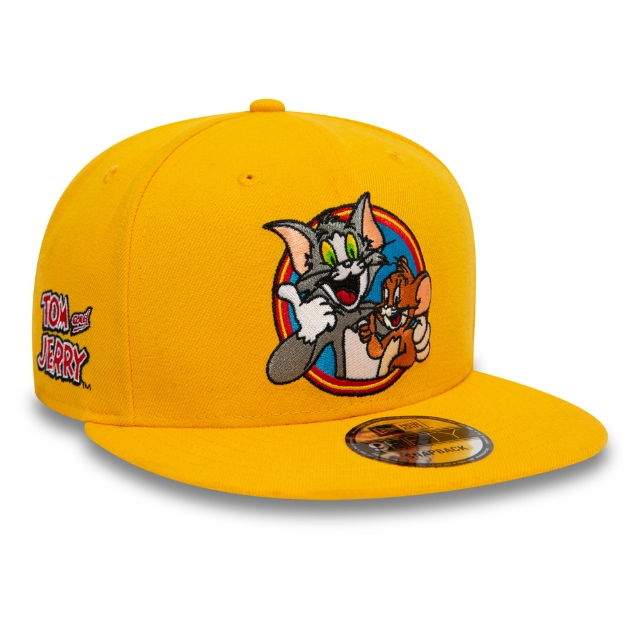Tom And Jerry Yellow 9FIFTY Snapback | Power Couples Hats | New Era Cap