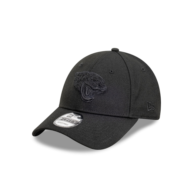 Jacksonville Jaguars Black On Black 9FORTY | Jacksonville Jaguars Hats | New Era Cap