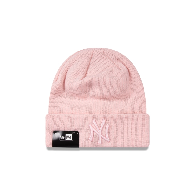 New York Yankees Pink Cuff Beanie | New Era Cap