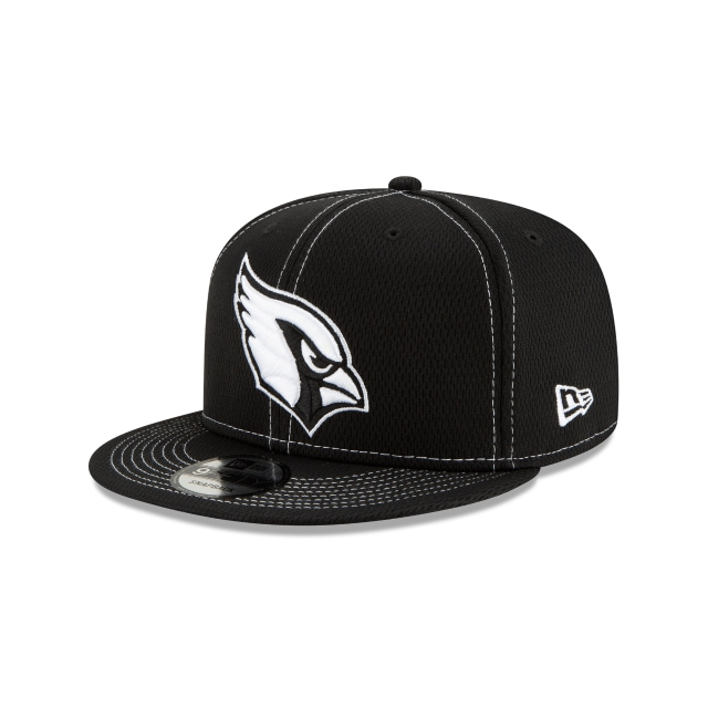 Arizona Cardinals Nfl Sideline Road Black 9fifty Snapback | New Era Cap