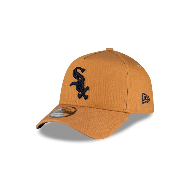 Chicago White Sox Bronze And Navy 9forty A-frame | New Era Cap