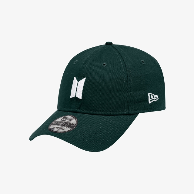 New Era X Bts Dark Green 9TWENTY | Bts Hats | New Era Cap