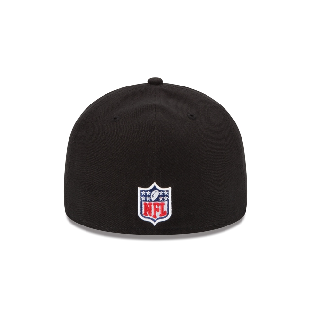 San Francisco 49ers Black 59FIFTY Fitted | San Francisco 49ers Hats | New Era Cap