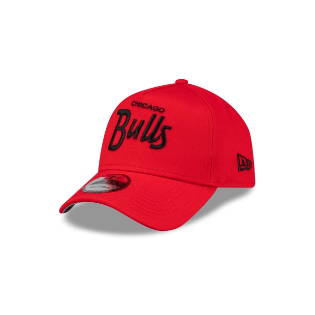 Chicago Bulls Scarlet Script 9forty A-frame | New Era Cap