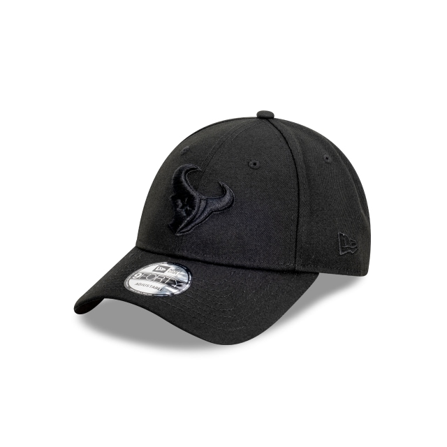 Houston Texans Black On Black 9FORTY | Houston Texans Hats | New Era Cap