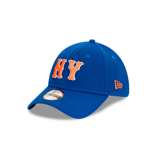New York Mets MLB Ligature Official Team Colours 39THIRTY Stretch Fit | New York Mets Hats | New Era Cap