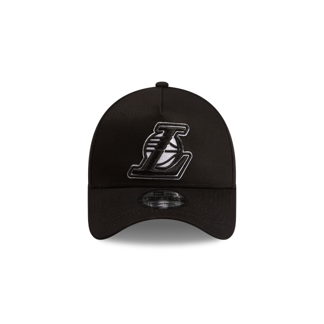 Los Angeles Lakers Black Grey 9FORTY A-frame | Los Angeles Lakers Hats | New Era Cap