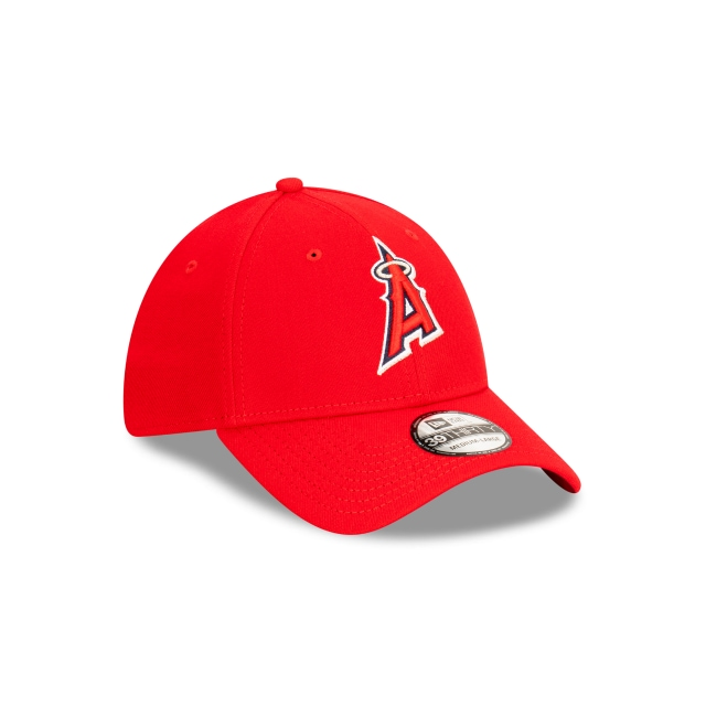 Los Angeles Angels 2020 MLB Ligature Official Team Colours 39THIRTY Stretch Fit | Los Angeles Angels Hats | New Era Cap
