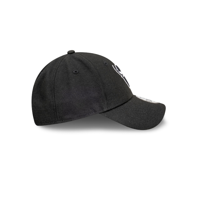 Chicago Bulls Black And Stone 9FORTY Snapback | Chicago Bulls Hats | New Era Cap