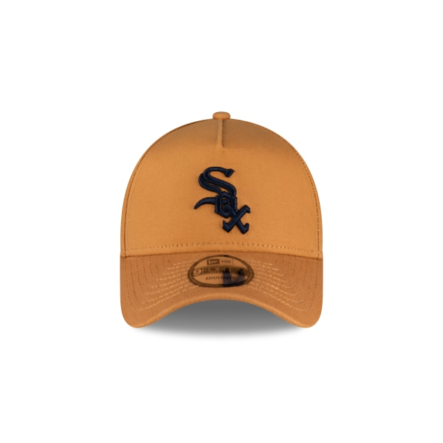 Chicago White Sox Bronze And Navy 9FORTY A-frame | Chicago White Sox Hats | New Era Cap