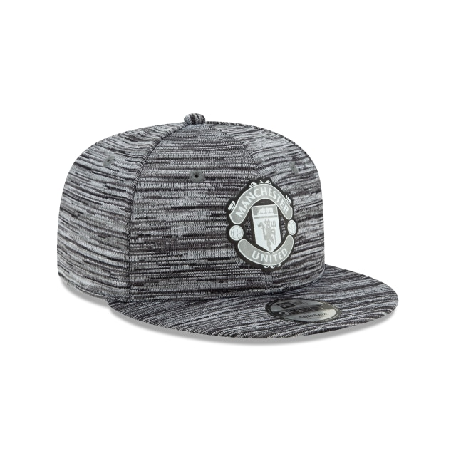 Manchester United Grey Reflect 9fifty | Soccer Teams Caps | New Era Cap