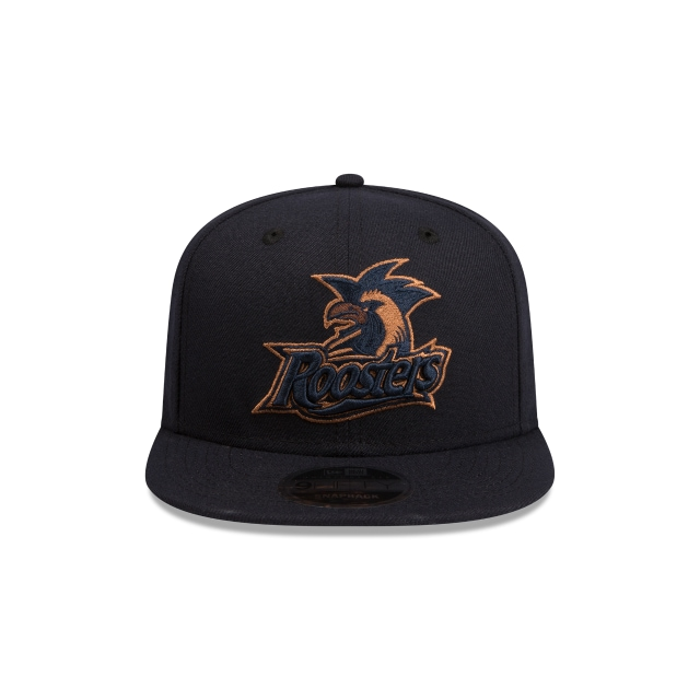 Sydney Roosters Original Fit Navy And Wheat 9FIFTY Snapback | Sydney Roosters Hats | New Era Cap