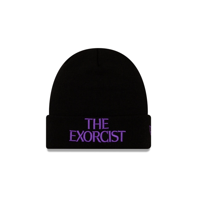 The Exorcist Black Cuff Beanie | New Era Cap